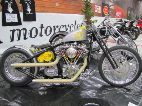 ECM Custom 57 Bobber